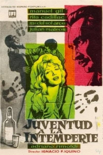 Caratula, cartel, poster o portada de Juventud a la intemperie