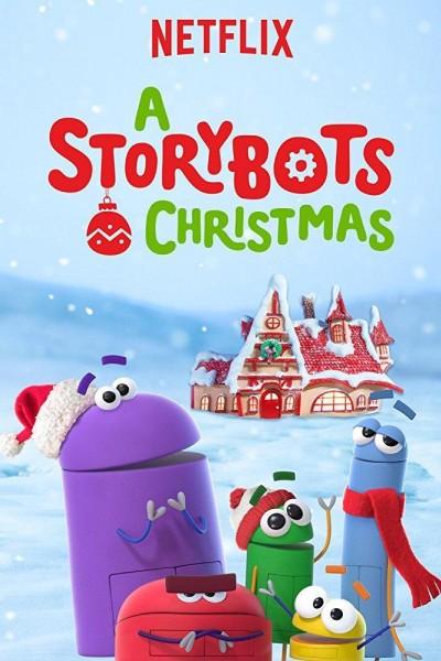 Caratula, cartel, poster o portada de Navidades con los Storybots
