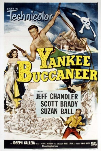 Caratula, cartel, poster o portada de Yankee Buccaneer