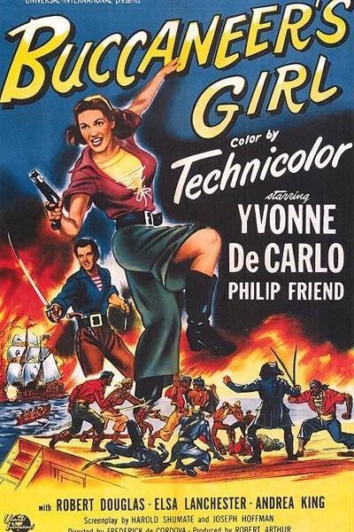 Caratula, cartel, poster o portada de El capitán pirata