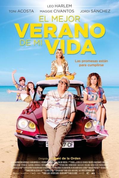 Caratula, cartel, poster o portada de El mejor verano de mi vida