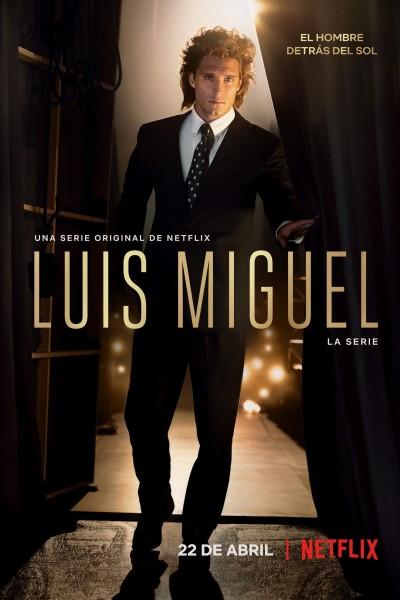 Caratula, cartel, poster o portada de Luis Miguel, la serie