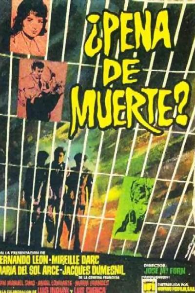 Caratula, cartel, poster o portada de ¿Pena de muerte?