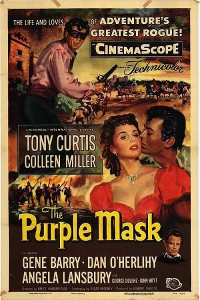 Caratula, cartel, poster o portada de La máscara púrpura