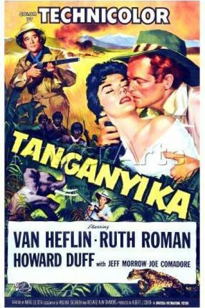 Caratula, cartel, poster o portada de Tanganica