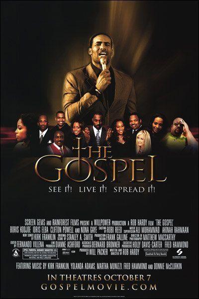 Caratula, cartel, poster o portada de The Gospel