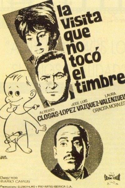 Caratula, cartel, poster o portada de La visita que no tocó el timbre