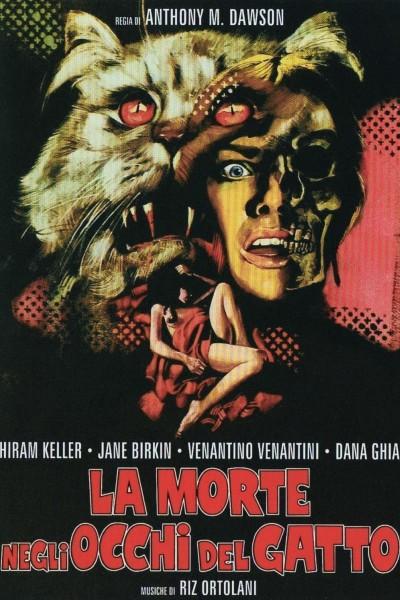 Caratula, cartel, poster o portada de Siete muertos en el ojo del gato
