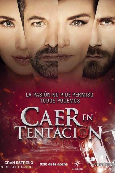Caratula, cartel, poster o portada de Caer en tentación