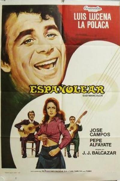 Caratula, cartel, poster o portada de Españolear