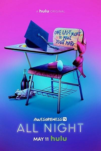 Caratula, cartel, poster o portada de All Night