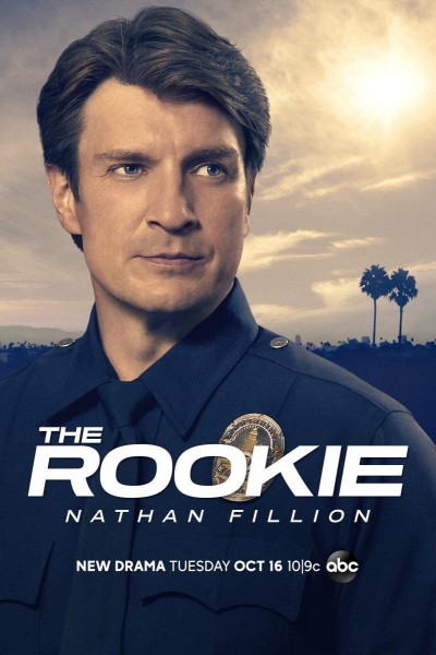 Caratula, cartel, poster o portada de The Rookie