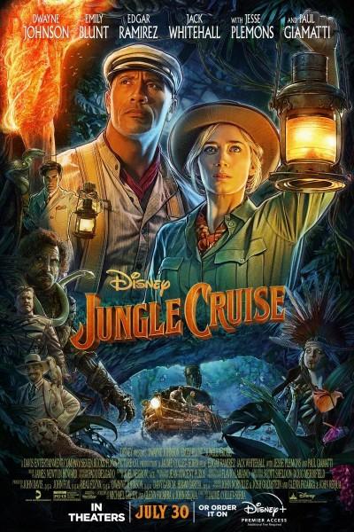 Caratula, cartel, poster o portada de Jungle Cruise