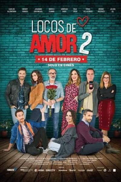 Caratula, cartel, poster o portada de Locos de amor 2