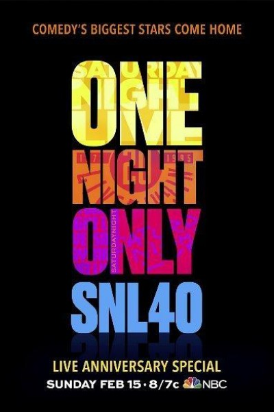 Caratula, cartel, poster o portada de SNL 40: Saturday Night Live 40