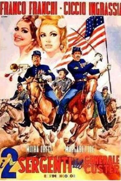 Caratula, cartel, poster o portada de Dos vivales en Fuerte Álamo