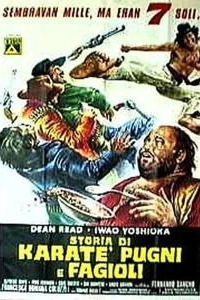 Caratula, cartel, poster o portada de La ley del karate en el Oeste