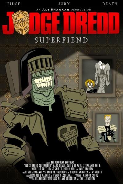 Caratula, cartel, poster o portada de Judge Dredd: Superfiend