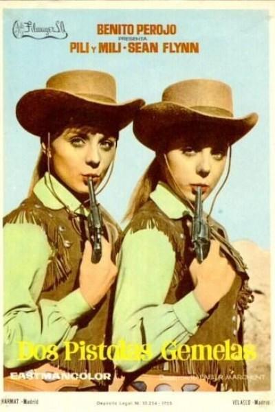 Caratula, cartel, poster o portada de Dos pistolas gemelas