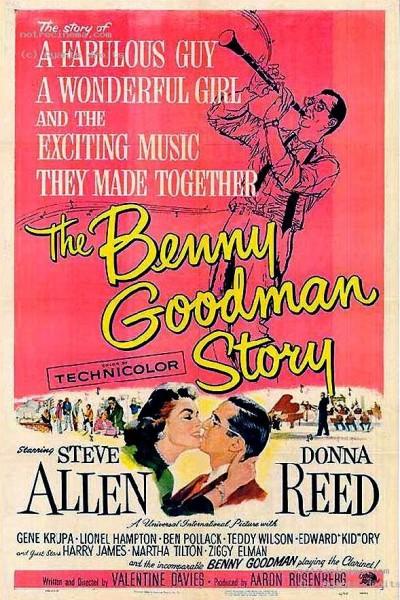 Caratula, cartel, poster o portada de La historia de Benny Goodman