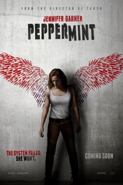 Caratula, cartel, poster o portada de Matar o morir (Peppermint)
