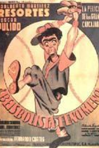 Caratula, cartel, poster o portada de El beisbolista fenómeno