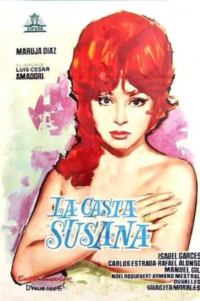 Caratula, cartel, poster o portada de La casta Susana