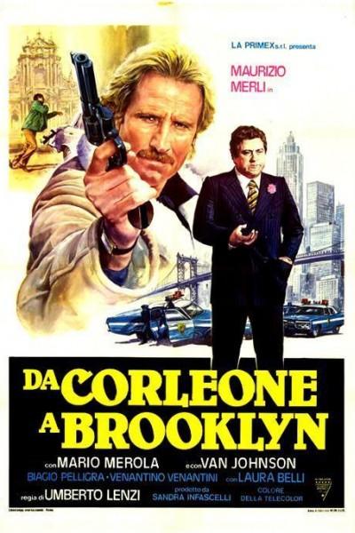 Caratula, cartel, poster o portada de Da Corleone a Brooklyn