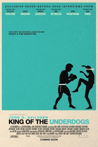 Caratula, cartel, poster o portada de John G. Avildsen: King of the Underdogs
