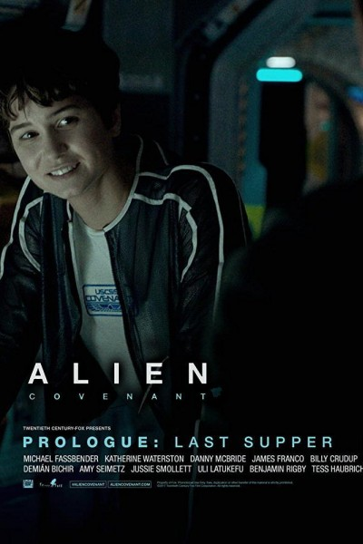 Caratula, cartel, poster o portada de Alien: Covenant - Prólogo: La última cena