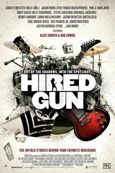 Caratula, cartel, poster o portada de Hired Gun
