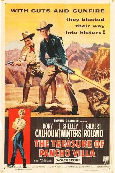 Caratula, cartel, poster o portada de El tesoro de Pancho Villa