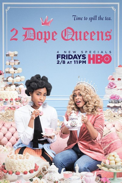 Caratula, cartel, poster o portada de 2 Dope Queens