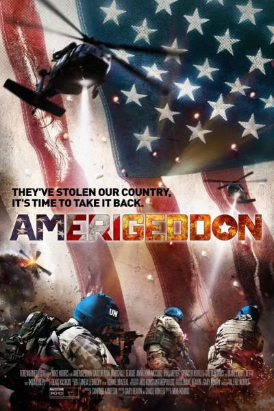Caratula, cartel, poster o portada de AmeriGeddon