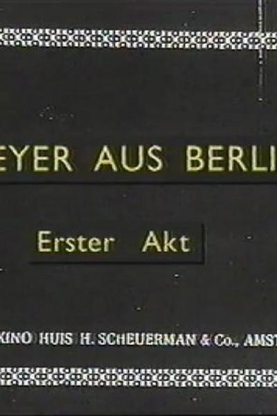 Caratula, cartel, poster o portada de Meyer aus Berlin