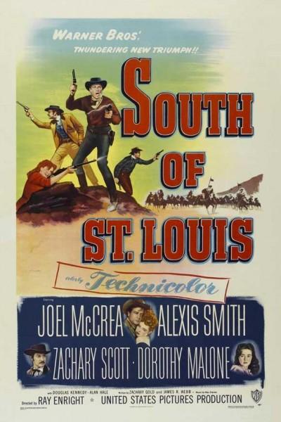 Caratula, cartel, poster o portada de Al sur de San Luis