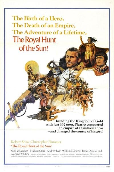 Caratula, cartel, poster o portada de La caza real del Sol
