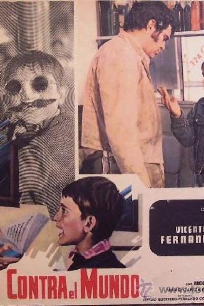 Caratula, cartel, poster o portada de Uno y medio contra el mundo