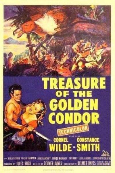 Caratula, cartel, poster o portada de El tesoro del Cóndor de Oro
