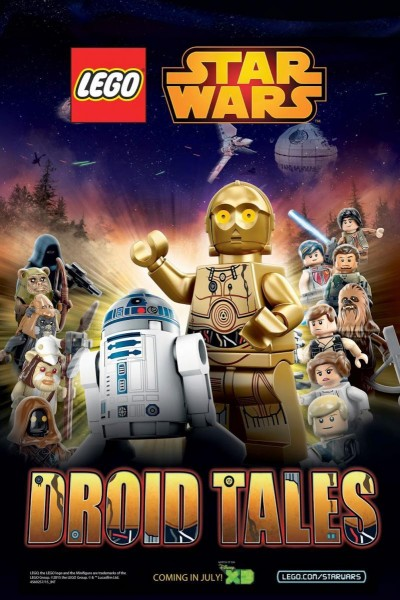 Caratula, cartel, poster o portada de LEGO Star Wars: Historias de Droides