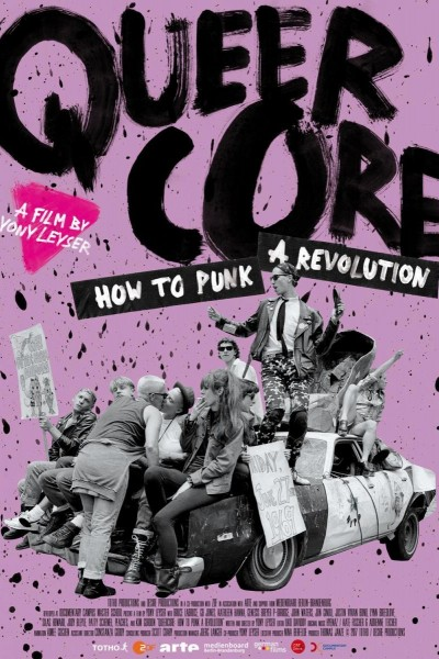 Caratula, cartel, poster o portada de Queercore: How to Punk a Revolution