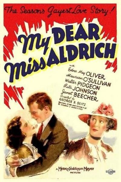 Caratula, cartel, poster o portada de My Dear Miss Aldrich