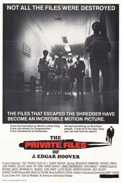 Caratula, cartel, poster o portada de Los archivos privados de Hoover