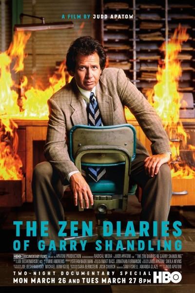 Caratula, cartel, poster o portada de Los diarios Zen de Garry Shandling