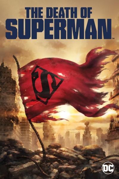 Caratula, cartel, poster o portada de La muerte de Superman
