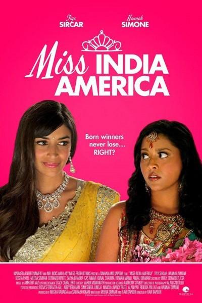 Caratula, cartel, poster o portada de Miss India America