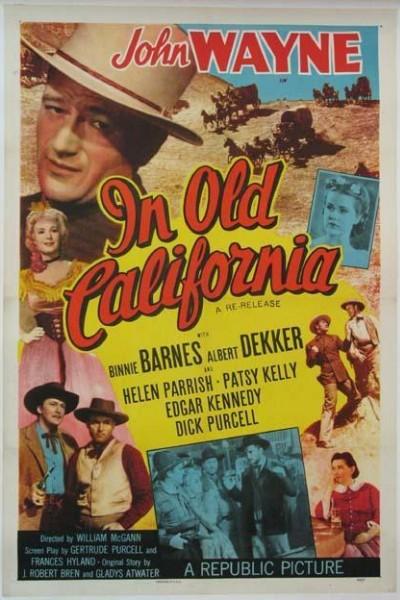 Caratula, cartel, poster o portada de En la vieja California