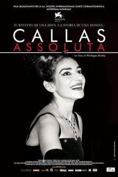 Caratula, cartel, poster o portada de Callas assoluta