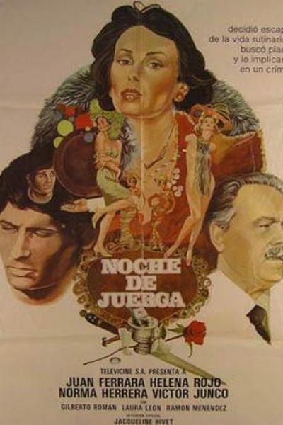 Caratula, cartel, poster o portada de Noche de juerga