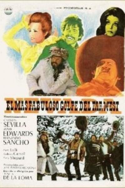 Caratula, cartel, poster o portada de El más fabuloso golpe del Far-West